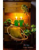 ETH Tafellamp Adam Velvet | Groen Tafellampen