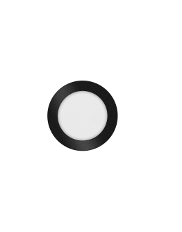 ETH Anne LED plafonnière 4 settings 17x2.7cm IP44 Zwart | Rond