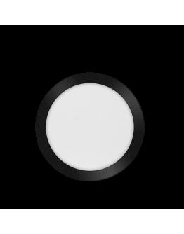 ETH Anne LED plafonnière 4 settings 26x2.7cm IP44 Zwart | Rond