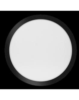 ETH Anne LED plafonnière 4 settings 40x2.7cm IP44 Zwart | Rond