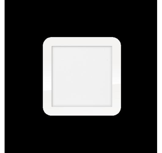 ETH Anne LED plafonnière 4 settings 22.5x22.5x2.7cm IP44 Wit | Vierkant Plafonnières