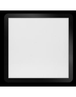 ETH Anne LED plafonnière 4 settings 40x40x2.7cm IP44 Zwart | Vierkant