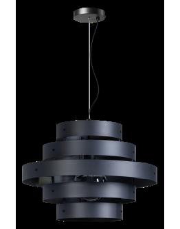 ETH Hanglamp Blagoon antraciet | 5-rings