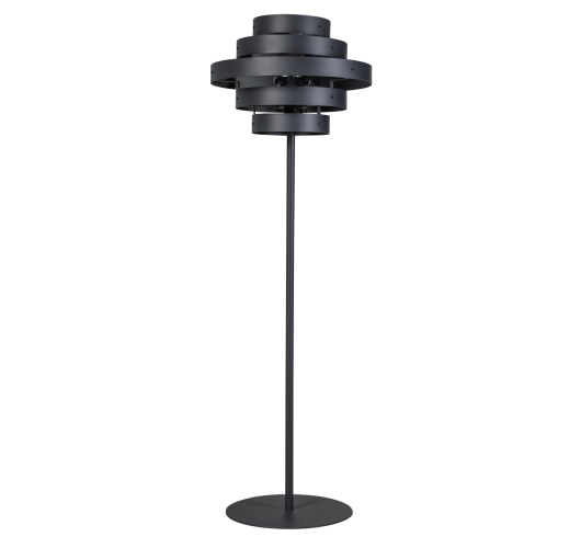 ETH Vloerlamp Blagoon antraciet   5-rings Vloerlampen
