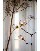 ETH Plafondlamp Lime 3x E27 | Smoke Glas Hanglampen