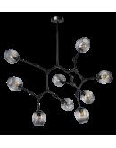 ETH Hanglamp Lime 9x E27 | Smoke Glas Hanglampen