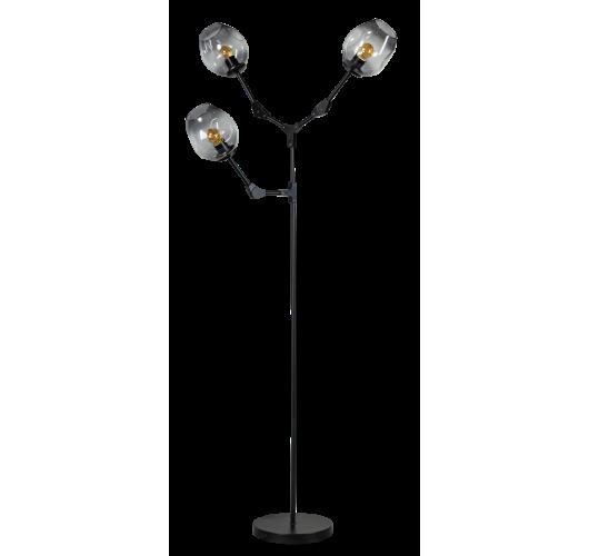 ETH Vloerlamp Lime 3x E27 | Smoke Glas Vloerlampen