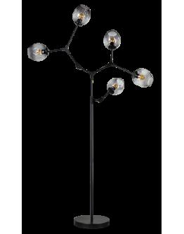 ETH Vloerlamp Lime 5x E27 | Smoke Glas
