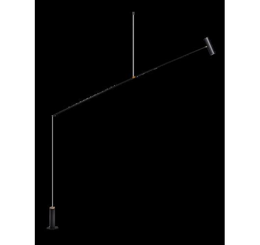 ETH Vloerlamp/ Hanglamp Rodd zwart LED 12W | Dimbaar Vloerlampen