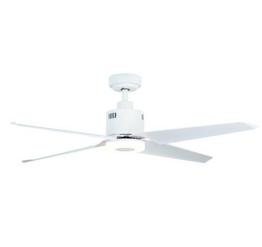 ETH Fan no.1 plafondventilator LED 4 Bladen | Wit Ventilatoren