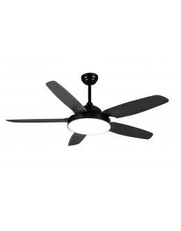 Plafond ventilator van ETH - The fan No. 3 - 5 bladen Zwart