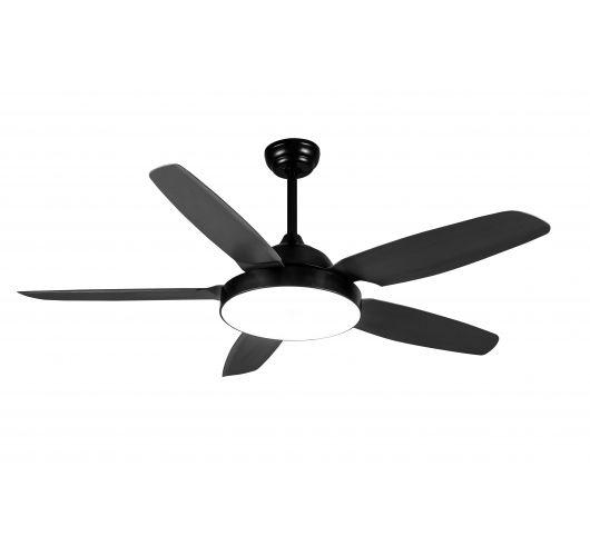 Plafond ventilator van ETH - The fan No. 3 - 5 bladen Zwart Overigen