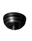 ETH Plafond Ventilator - The Fan No.4   5 Bladen Zwart Ventilatoren