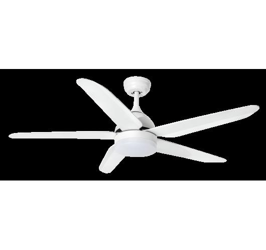 ETH Fan no.4 Plafondventilator LED 5 Bladen | Wit Ventilatoren