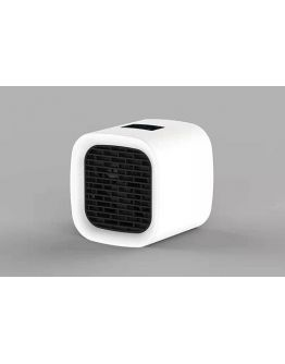 Trio Tafelventilator/Watertank Icecube | Incl. RGB LED | Wit