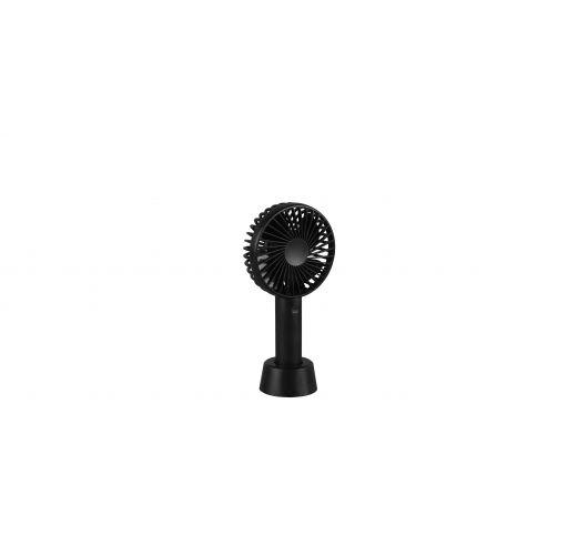 Trio Tafelventilator Windy Oplaadbaar (USB) | Zwart Ventilatoren