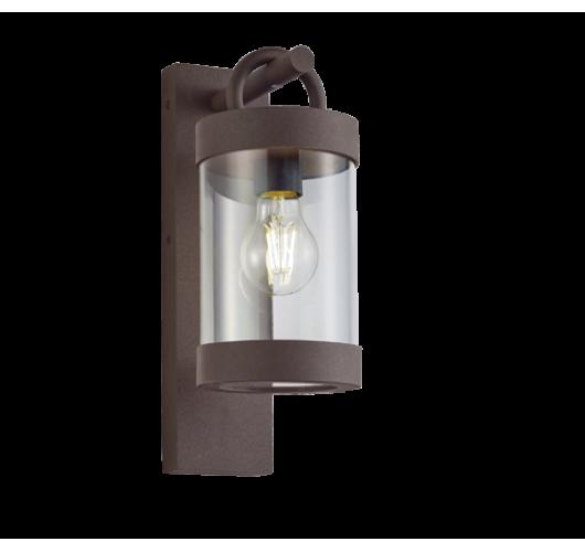 Trio Wandlamp Sambesi Dag/Nacht Sensor IP44 | Roest kleur Wandlampen