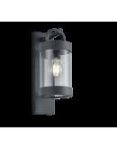 Trio Wandlamp Sambesi Dag/Nacht sensor IP44 | Antraciet Wandlampen