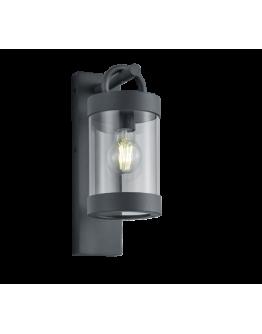 Trio Wandlamp Sambesi Dag/Nacht sensor IP44 | Antraciet