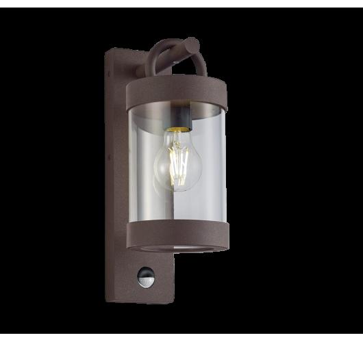 Trio Wandlamp Sambesi Bewegingssensor IP44   Roest Kleur Wandlampen