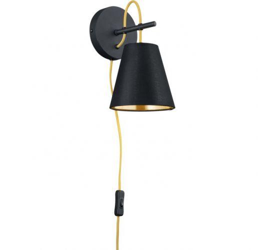 Trio Wandlamp Andreus | Mat Zwart Wandlampen