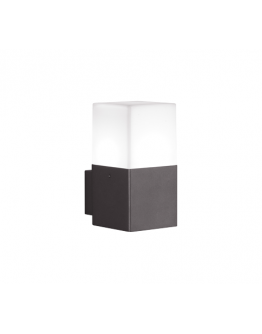Trio Wandlamp Hudson LED IP44 | Antraciet