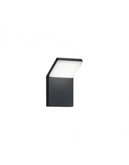 Trio Wandlamp Pearl LED IP54 | Antraciet