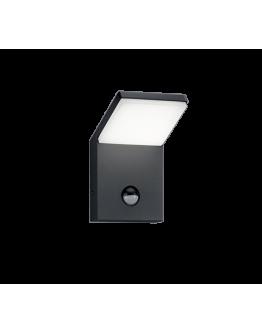 Trio Wandlamp Pearl LED IP54 Bewegingssensor | Antraciet