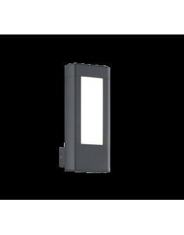 Trio Wandlamp Rhine LED IP54 | Antraciet