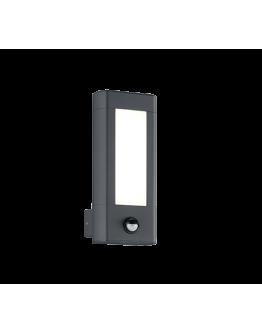 Trio Wandlamp Rhine LED IP54 Bewegingssensor | Antraciet