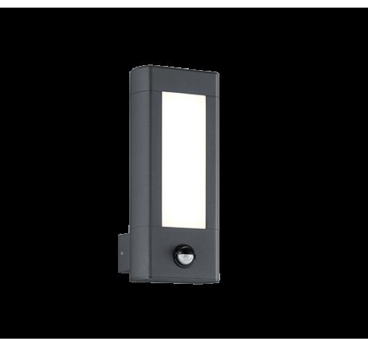 Trio Wandlamp Rhine LED IP54 Bewegingssensor | Antraciet Overigen