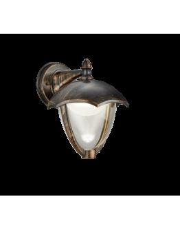 Trio Wandlamp Gracht LED IP54   Roest