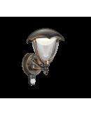 Trio Wandlamp Gracht LED IP54 Bewegingssensor   Roest  Overigen