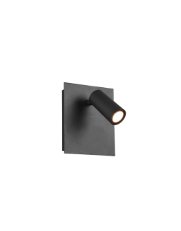 Trio Wandlamp Tunga LED IP54 | Antraciet
