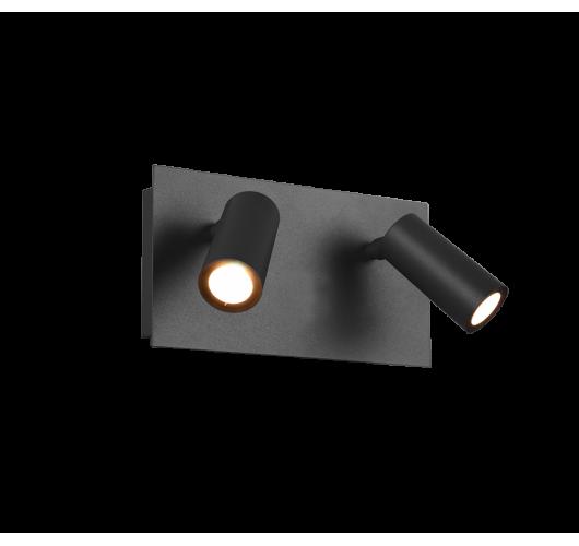 Trio Wandlamp Tunga 2 Lichts LED IP54   Antraciet Overigen