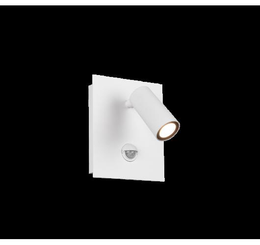 Trio Wandlamp Tunga LED IP54 Bewegingssensor | Wit Mat Overigen