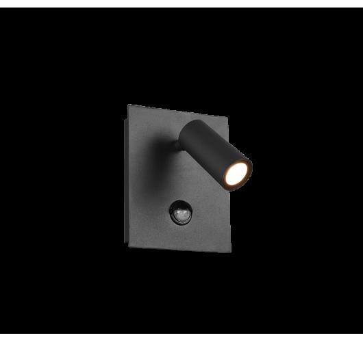 Trio Wandlamp Tunga LED IP54 Bewegingssensor | Antraciet Overigen