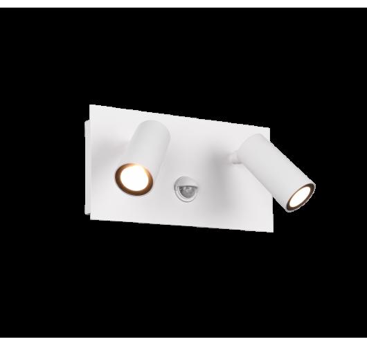 Trio Wandlamp Tunga 2 Lichts LED IP54 Bewegingssensor | Wit Mat Overigen