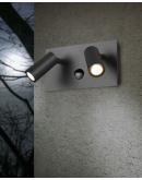Trio Wandlamp Tunga 2 Lichts LED IP54 Bewegingssensor   Antraciet Overigen