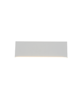 Trio Wandlamp Concha LED Breedte 28CM | Wit