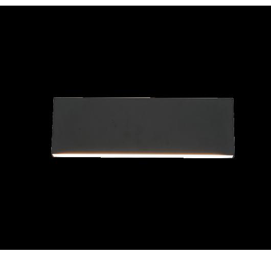 Trio Wandlamp Concha LED Breedte 28CM   Antraciet Wandlampen