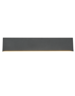 Trio Wandlamp Concha LED Breedte 47CM | Antraciet