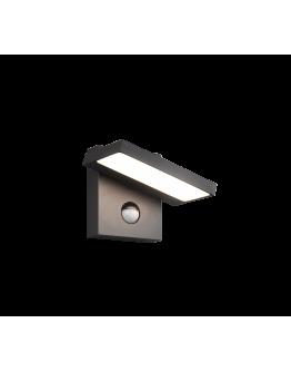Trio Wandlamp Horton LED / Bewegingssensor | Antraciet