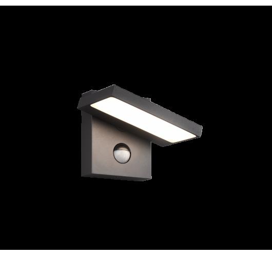Trio Wandlamp Horton LED / Bewegingssensor | Antraciet Wandlampen