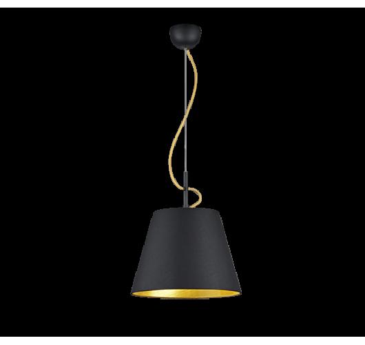 Trio Hanglamp Andreus | Mat Zwart Hanglampen