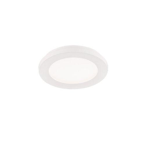 Reality Camillus Plafonnière | Wit | Ø 17CM | Incl. SMD LED | Dimbaar | Geschikt voor de badkamer  Plafonnière