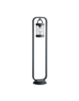 Trio Paal / Sokkel Sambesi Dag/Nacht Sensor IP44 H 100CM | Antraciet