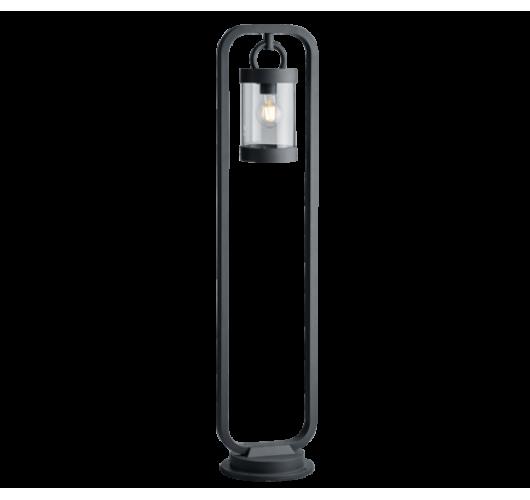 Trio Paal / Sokkel Sambesi Dag/Nacht Sensor IP44 H 100CM | Antraciet Wandlampen