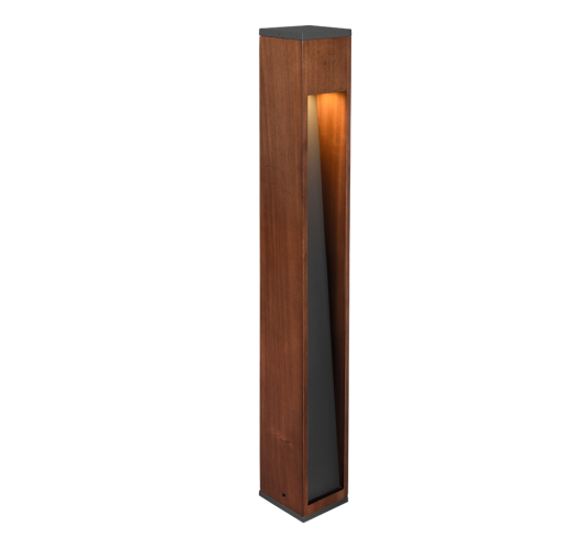 Trio Canning Paal IP44 80cm | Hout  Overigen