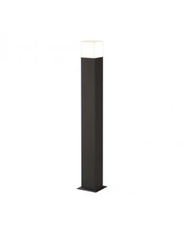 Trio Sokkel Hudson LED IP44 H 80CM | Antraciet